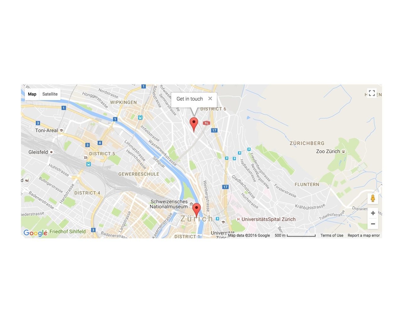 django CMS Google Map