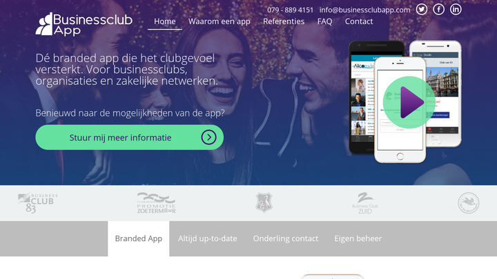 Businessclub App
