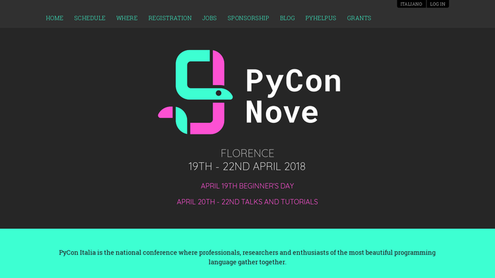 PyCon Italia