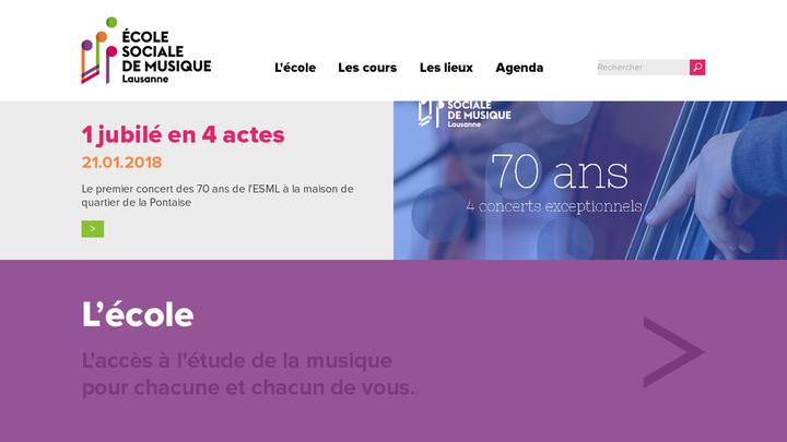 Ecole Sociale de Musique de Lausanne