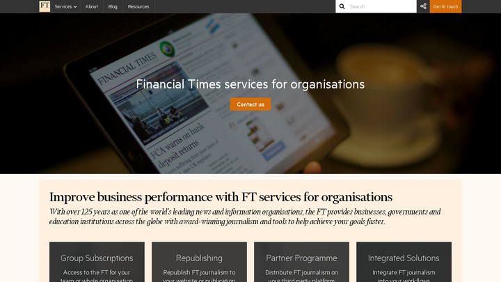 FT services for organisations