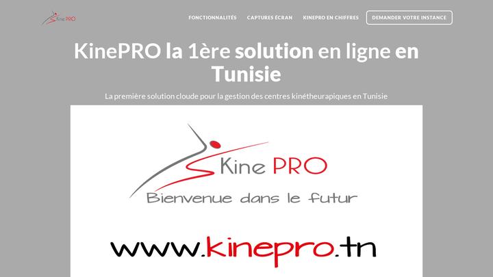 KinePRO WebSite