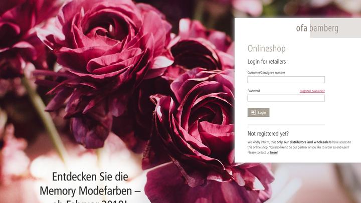 Ofa Bamberg Onlineshop